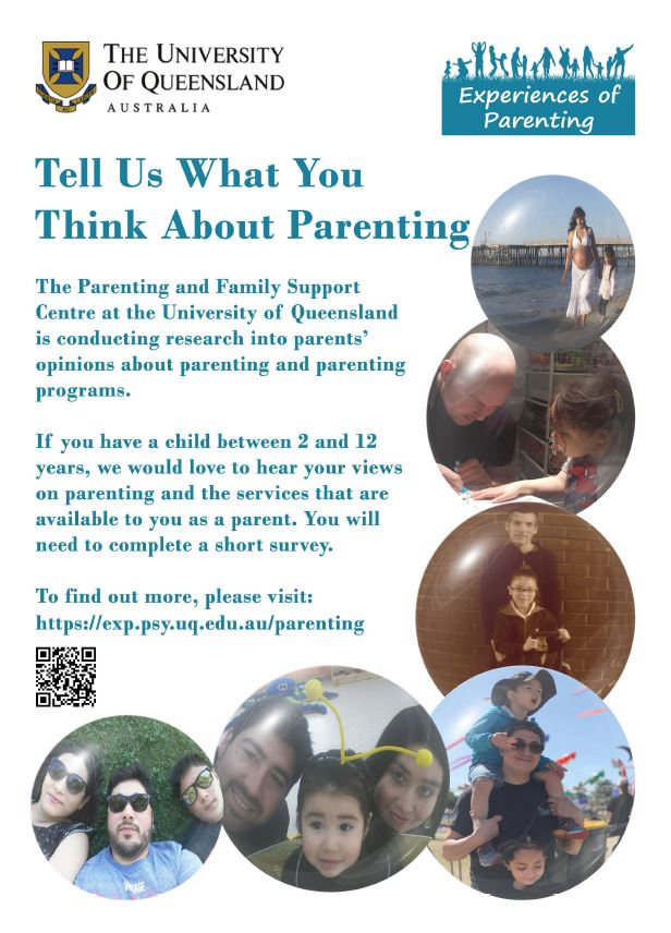 Tell Us What You Think About Parenting